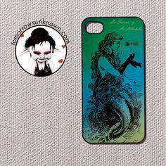 OOAK Art Spanish Mermaid iPhone 4 and 4s cover 90031 by CudageCase, $16.99