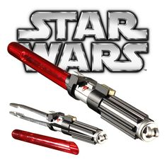Star Wars Lightsaber Barbecue Tongs Modeled After Darth Vader's Iconic Weapon Design