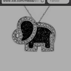 Elephant necklace! For Sissy as well