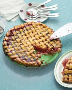 Comfort Desserts // Sour-Cherry Pie Recipe