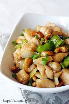 Cashew Chicken! This website has some great Chinese recipes