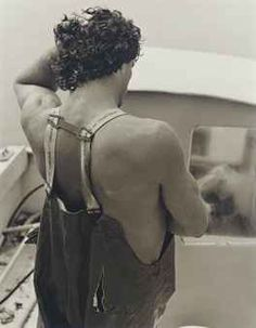 Steve, Clammer, Bellport, 1982