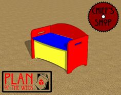 Plan of the Week: Toy Box Stool