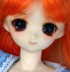 Sleeping Princess with Anime Eyes