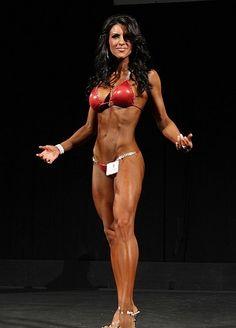 Fitness model, certified personal trainer, television host, singer and IFBB Bikini Pro Amanda Latona