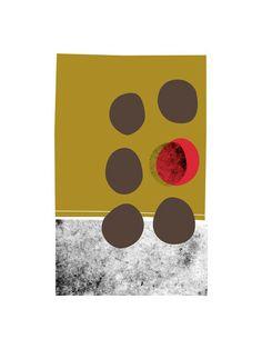 abstracciones vol.2 by Aspacia Kusulas for Minted