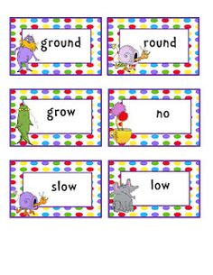 Lorax Rhyming Word Cards (not free)