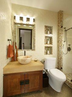 Small Space Bathrooms Design