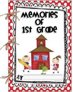 FREE Memory Book for 1st grade