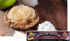 Ezekiel 4:9 Cinnamon Raisin Sprouted Whole Grain English Muffins | Food For Life at Whole Foods