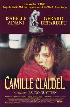 Camille Claudel , starring Isabelle Adjani, Gérard Depardieu, Madeleine Robinson, Laurent Grévill. Biography of Camille Claudel. Sister of writer Paul Claudel, her enthusiasm impresses already-famous sculptor Auguste Rodin... #Biography #Drama #History #Romance