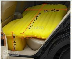 Wholesale - multiple use in car air bed, $92.78