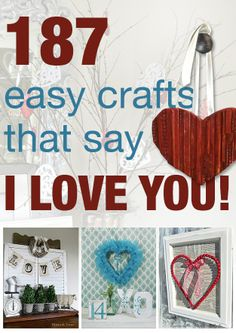 187 ways to decorate with love on Valentine's day!