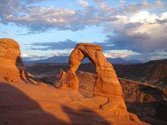 10 romantic camping destinations - Moab, Utah
