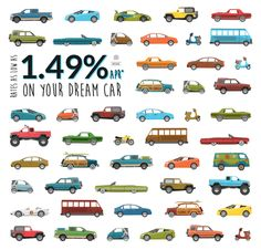 What's your dream car? The lowest rate of the summer is here, meaning you can get the car you've always wanted for cheaper than ever. Visit http://www.smcu.com/auto for details and disclosures. #lowrate #carloan #autoloan