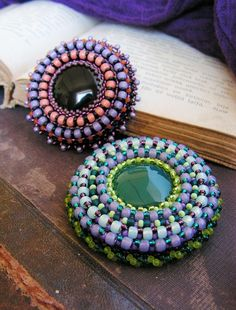 Beaded Brooch Beadwo
