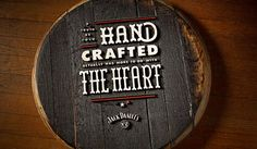 Hand Crafted - #typography