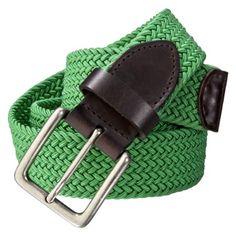 Merona® Mens Belt - Green
