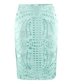H and M - Skirt (in Mint Green)