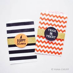 #Halloween goodie bag DIY from Pretty Paper Parties, by @Vanessa Bird Chupp