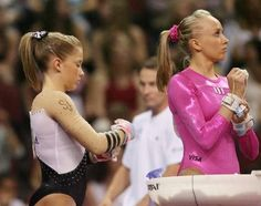 Shawn Johnson & Nastia Liukin - 2008 US Nationals