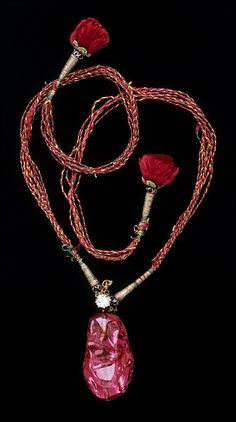 The Carew Spinel, India, 17th Century    Source: The Victoria and Albert Museum
