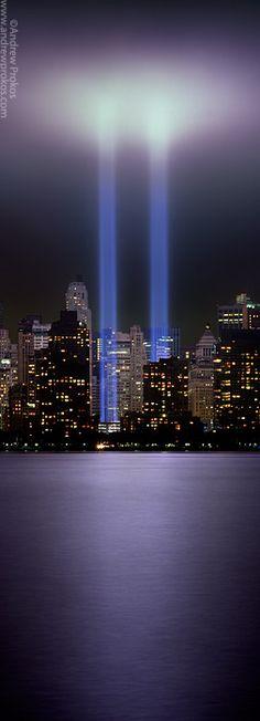 anniversary, america, amaz, twin towers, city lights