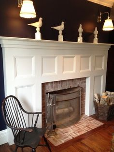 Traditional Living Photos Designer Fireplaces Design, Pictures, Remodel, Decor and Ideas - page 27