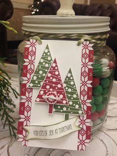 Festival of Trees Tag Stampin' Up!