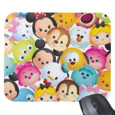 ''Tsum Tsum'' Pattern Mousepad from Disney Store for $12.95