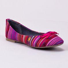 Patterned Ballet Flat