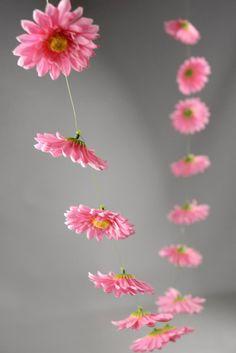 gerbera daisy garland