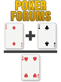 Poker discussion forum where members can learn poker strategy, enjoy exclusive poker freerolls and offers, improve poker tournament skills, share Texas Hold'em and poker variations experiences, and a variety of other topics.