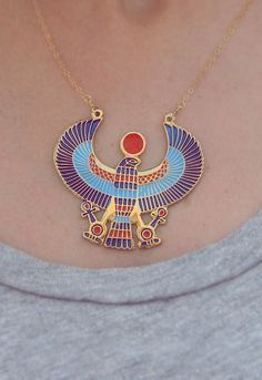Horus Egyptian Necklace