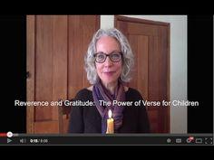 Reverence and Gratitude: The Power of Verses for Children - YouTube