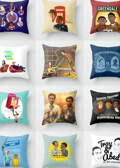 Community art pillows