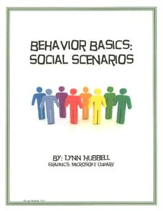 "This freebie, ""Social Scenarios"" presents challenging vignettes set within the school setting which call upon students to apply conflict resolution and problem solving skills to resolve. These cards can be used for individual and group instruction and are ideal for use in social skills groups with older elementary and secondary students."