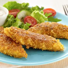 Crunchy Ranch Chicken Tenders. Skip the drive-thru and make these at home.