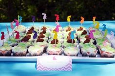 Easter Bunny Party Cupcakes