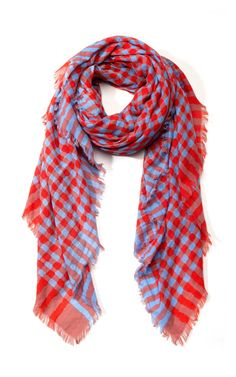 Marc by Marc Jacobs Molly Check Scarf