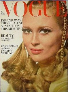 Faye Dunaway - Vogue UK May 1968