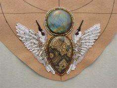 bead embroidery necklace patterns free | An Interview with Heidi Kummli - Maggies Musings - Bead ...