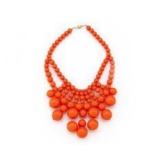 pop of orange.