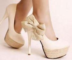 white, bows, diamonds... LOVE IT