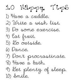 10 Happy Tips