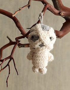 Amigurumi Mummy Ornament