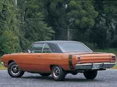 1969 Dodge Dart- My first car was a '69 Dart. Had a Slant 6 225 HP- hunk of metal around an engine- It was fun.