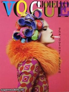 roller, vogue, cover, fashion, 30th anniversary