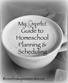 Imperfect Guide to Homeschool Planning  Scheduling