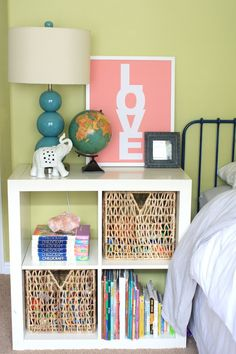 6th Street Design School | Kirsten Krason Interiors : How to Decorate a Shared Boy & Girl Room globe